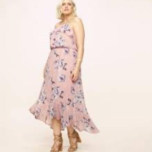 e80fbbce5607 Plus Size Hi-Low Maxi Dress. Boutique. Loralette